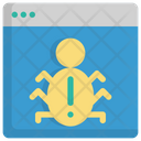 Bug Programming Coding Icon