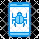 Bug Smartphone Virus Icon