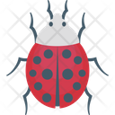 Bug Bug Virus Cyber Hack Icon