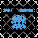 Bug Browser Virus Icon