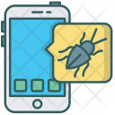 Bug Inspect Virus Icon