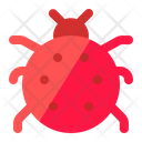 Ladybird Insect Summer Icon