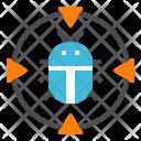 Bug Trojan Virus Icon
