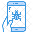 Bug Error Smartphone Icon