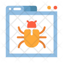 Bug Webpage Website Icon