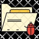 Bug Folder Directory Icon