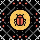 Malware Bugs Virus Icon
