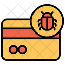 Bug Credit Card Icon