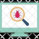 Bug Detection Bug Tracking Virus Checker Icon