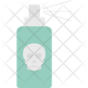 Bug Disinfection Disinfectant Spray Poison Bottle Icon