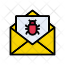 Virus Malware Email Icon