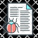 Bug File Bug Industry Icon