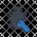 Virus Malware Setting Icon