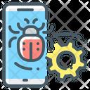 Bug Fixes Mobile Phone Icon