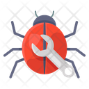 Bug Fixing Fix Repair Seo Spider Icon
