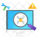 Bug Fixing Bug Tracking Bug Finding Icon