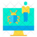 Bug Virus Technician Icon