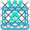 Bug Laptop Icon