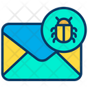 Mail Virus Malware Icon