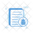 Bug Report Virus Report Malware File Icon