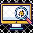 Bug Scanner Virus Checker Bug Checker Icon
