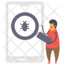 Bug Scanning Icon