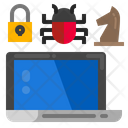 Bug Security Strategy Icon