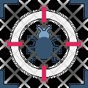 Bug Target Bug Testing Debug Mode Icon