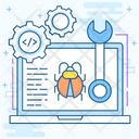 Bug Testing Icon