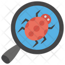 Bug Tracking Bug Detection Virus Checker Icon