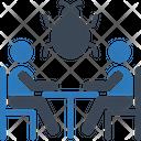 Bug Virus Business Meeting Meeting Icon