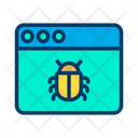 Bug Web Icon