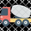 Buggy Mixer Concrete Icon