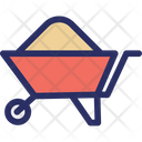 Buggy Buggy Construction Cart Icon