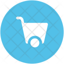 Buggy Construction Cart Icon