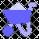Buggy Concrete Icon