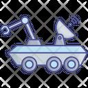 Buggy Lunar Robot Icon