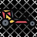 Buggy Vehicle Machine Icon