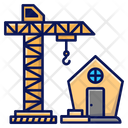 Build A House Civil Engineer Construction Icon
