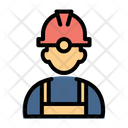 Builder Engineer Professional Icon