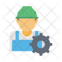 Builder Constructor Worker Icon