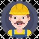 Builder Helmet Worker Icon