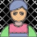 Avatar Builder Construction Worker Icon
