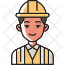 Builder Construction Worker Icon