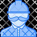 Builder Human Mustache Icon