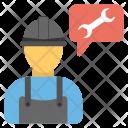 Engineer Laborer Builder Icon