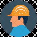 Builder Construction Avatar Icon