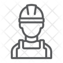 Builder Worker Engineer Icon