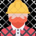 Builder Building Construction Icon