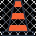 Building Cone Construction Icon